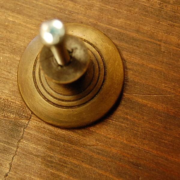 ブラス取っ手 真鍮把手 つまみ インドネシア直輸入・インテリアパーツ・古色仕上げ アンティーク仕上げ 家具修理 家具部品 DIY|artcrew|05