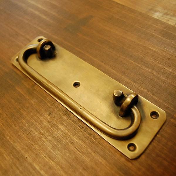 ブラスノブ582 真鍮把手・・・インドネシア直輸入・インテリアパーツ・古色仕上げ|artcrew|02
