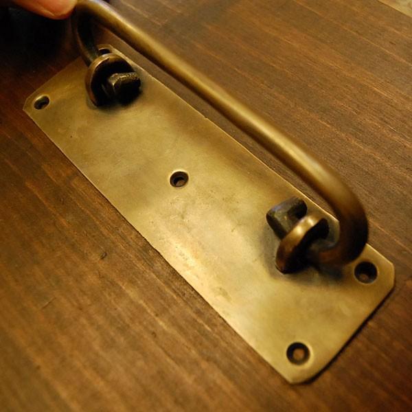 ブラスノブ582 真鍮把手・・・インドネシア直輸入・インテリアパーツ・古色仕上げ|artcrew|03