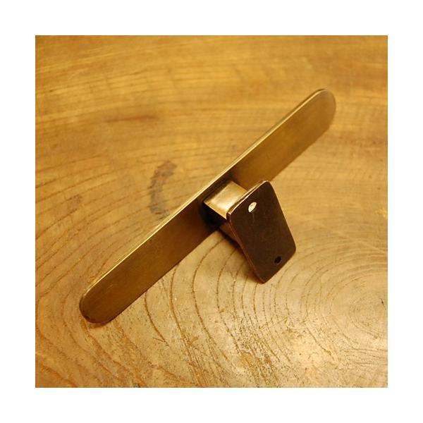 ブラスフック585 真鍮・・・インドネシア直輸入・インテリアパーツ・古色仕上げ artcrew 03