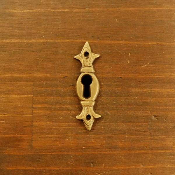 ブラス鍵穴587 真鍮金具・・・インドネシア直輸入・インテリアパーツ・古色仕上げ|artcrew