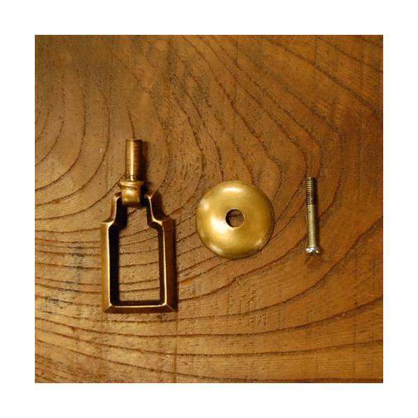 ブラス取っ手 真鍮把手 インドネシア直輸入・インテリアパーツ・アンティーク仕上げ・古色仕上げ DIY 付け替え 修理 家具部品|artcrew|05