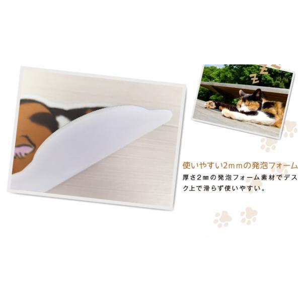 ごめん寝 (ネコ) マウスパッド /m/|artemis-webshop-2|04