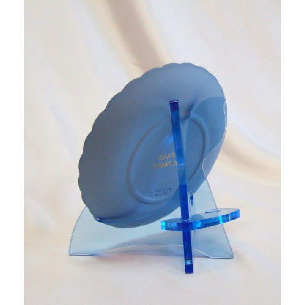 皿立てニュープレートスタンドPS-16AB(アクリルブルー皿立て)|artesse-store|05