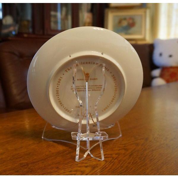 皿立てニュープレートスタンド PS20-AC(アクリルクリアー皿立て)|artesse-store|03