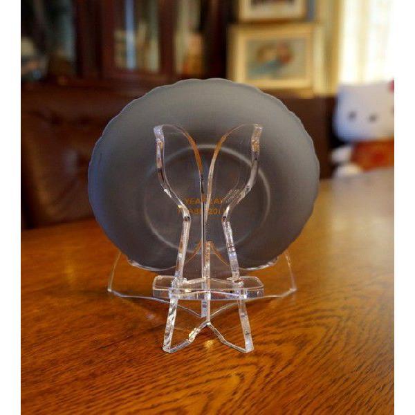 皿立てニュープレートスタンド PS16-AC(アクリルクリアー皿立て)|artesse-store|04