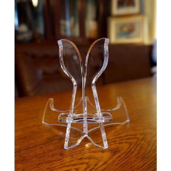 皿立てニュープレートスタンド PS16-AC(アクリルクリアー皿立て)|artesse-store|06