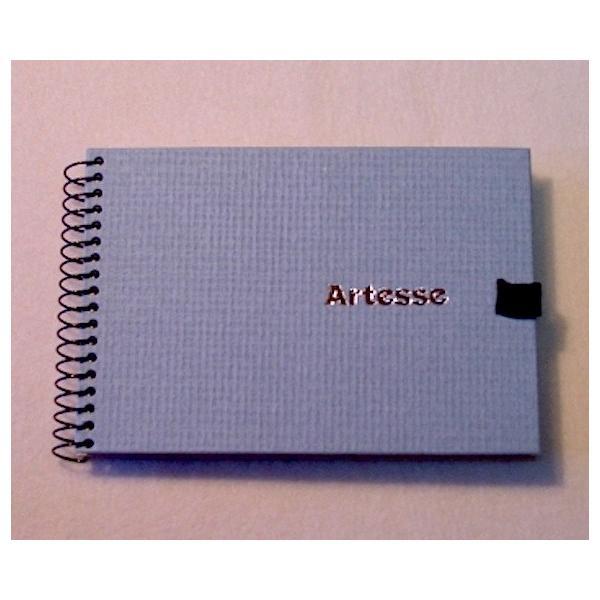 スケッチブックA6 バラエティ水彩紙アソート4種×5枚=20枚綴り artesse-store