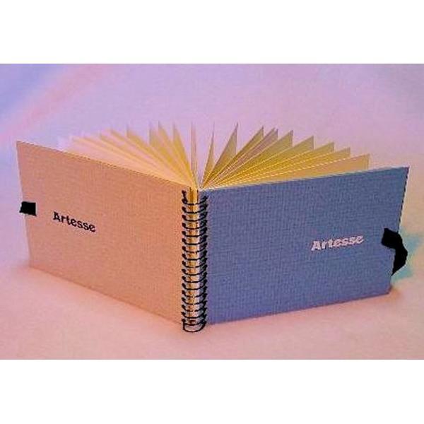 スケッチブックA6 バラエティ水彩紙アソート4種×5枚=20枚綴り artesse-store 02