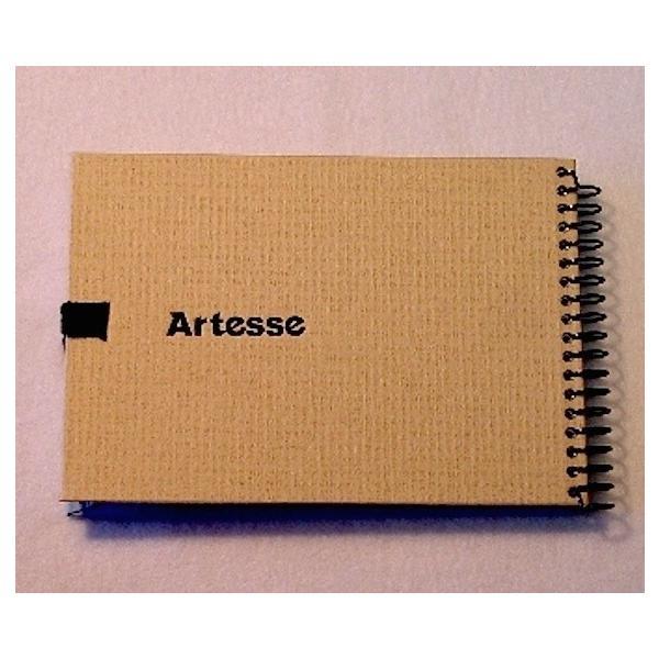 スケッチブックA6 バラエティ水彩紙アソート4種×5枚=20枚綴り artesse-store 03