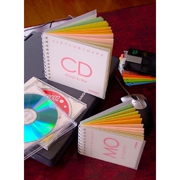 スケッチブックCD カラーコットン紙5種×各5枚=25枚綴り|artesse-store