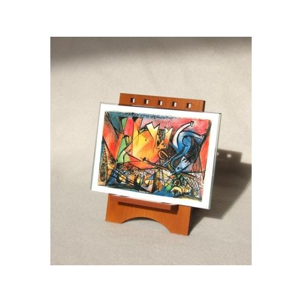 ペーパースタンドイーゼル <書類立てま専科> PSE-PC-01 (ライトオーク) artesse-store 04