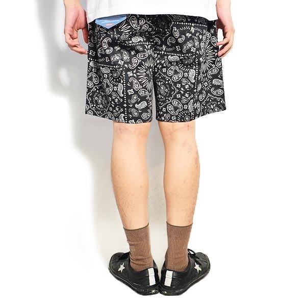 クックマン ショートパンツ COOKMAN CHEF SHORT PANTS PAISLEY -BLACK- 231-01884|artif|03