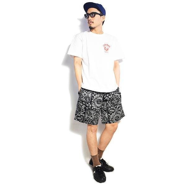 クックマン ショートパンツ COOKMAN CHEF SHORT PANTS PAISLEY -BLACK- 231-01884|artif|06