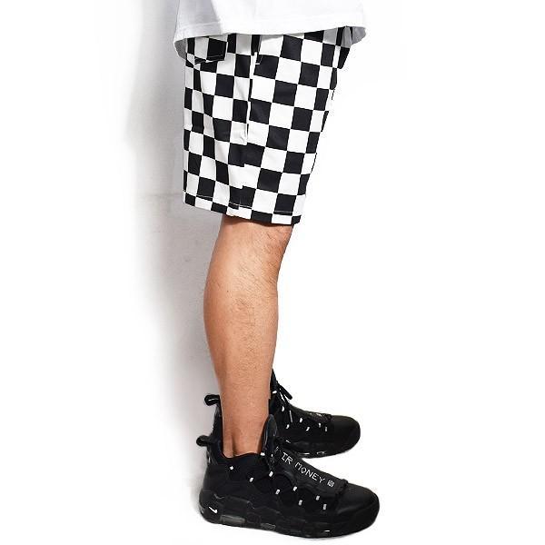 クックマン ショートパンツ COOKMAN CHEF SHORT PANTS -CHECKER-|artif|02