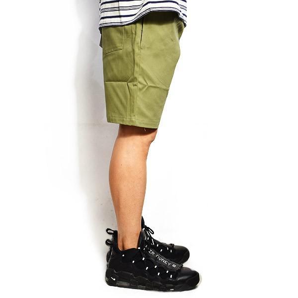クックマン ショートパンツ COOKMAN CHEF SHORT PANTS -KHAKI-|artif|02
