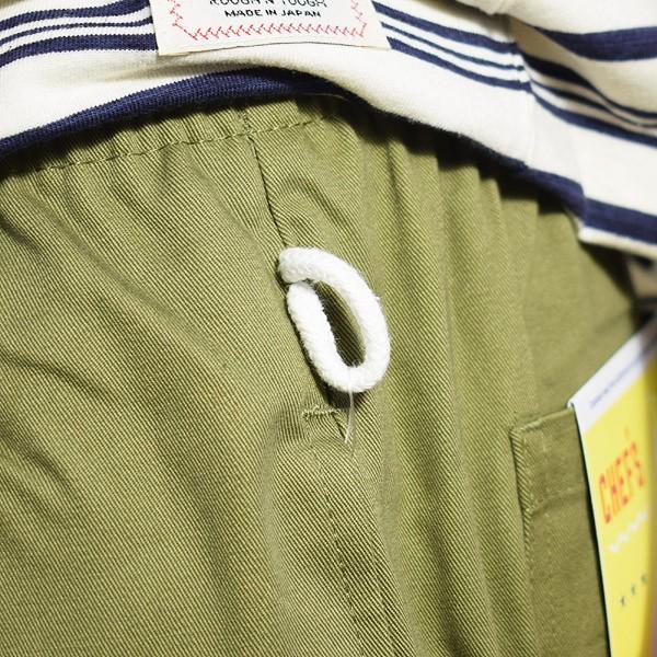 クックマン ショートパンツ COOKMAN CHEF SHORT PANTS -KHAKI-|artif|05