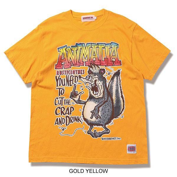 アニマリア Tシャツ ANIMALIA SKUNK FINK S/S|artif|04