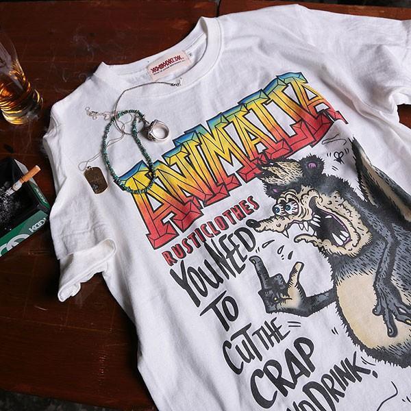 アニマリア Tシャツ ANIMALIA SKUNK FINK S/S|artif|05