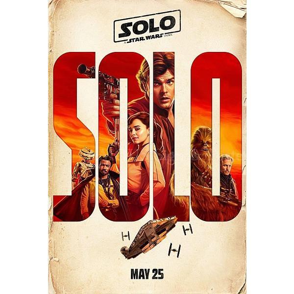 映画ポスター ハンソロ スターウォーズ ストーリー Solo: A Star Wars Story グッズ /アート インテリア フレームなし /Cast ADV-両面 artis 02
