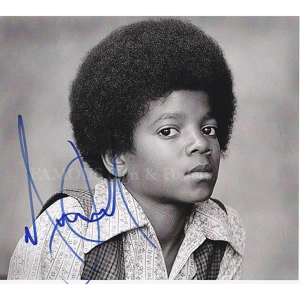 直筆サイン入り写真 マイケルジャクソン Michael Jackson グッズ /Ben ABC 等 /ブロマイド オートグラフ|artis|02