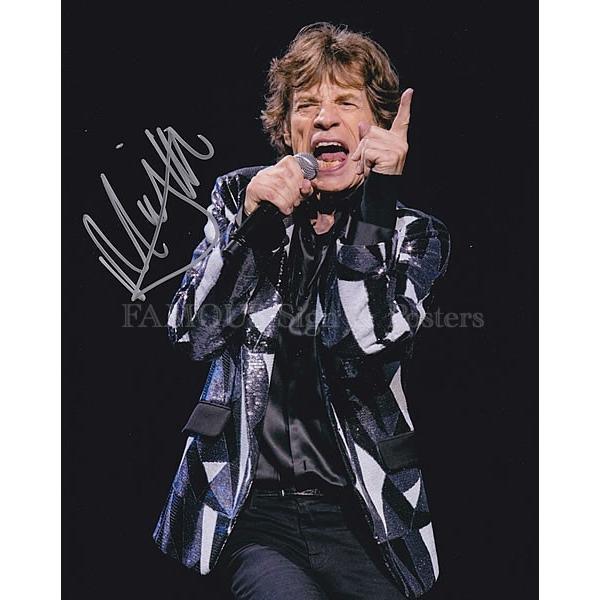 直筆サイン入り写真 ザローリングストーンズ The Rolling Stones グッズ ミックジャガー Mick Jagger /ブロマイド オートグラフ|artis|02