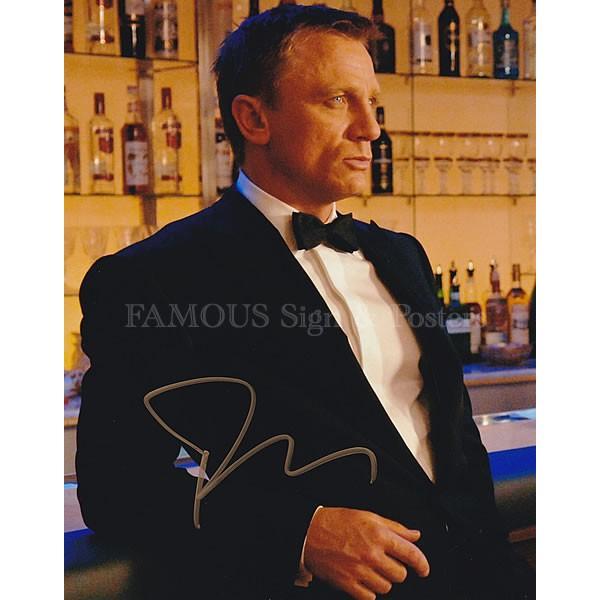 直筆サイン入り写真 007 カジノロワイヤル グッズ ジェームズボンド ダニエルクレイグ /映画 ブロマイド オートグラフ|artis|02