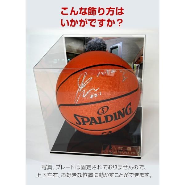直筆サイン入りバスケットボール 7号サイズ 八村塁 グッズ アメリカ ゴンザガ大学 NBA ワシントンウィザーズ /オートグラフ /英語+漢字+当日の写真+ケース付|artis|05