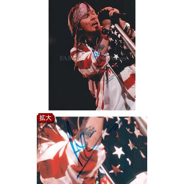 直筆サイン入り写真 ガンズ・アンド・ローゼズ グッズ Guns N' Roses ボーカル アクセル・ローズ /ブロマイド オートグラフ /フレーム別|artis|02