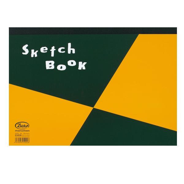 [ ゆうパケット可 ]  マルマン 天糊 スケッチブック 図案シリーズパッド 50枚綴 S252 A4 【 スケッチ ノート 用紙 】|artloco