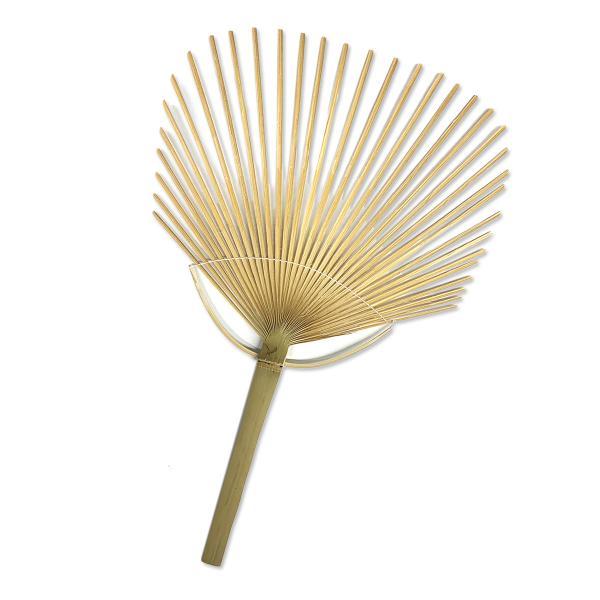 うちわ用 骨材 竹製 10本組 【 工作 夏休み 扇子 うちわ 夏 】|artloco