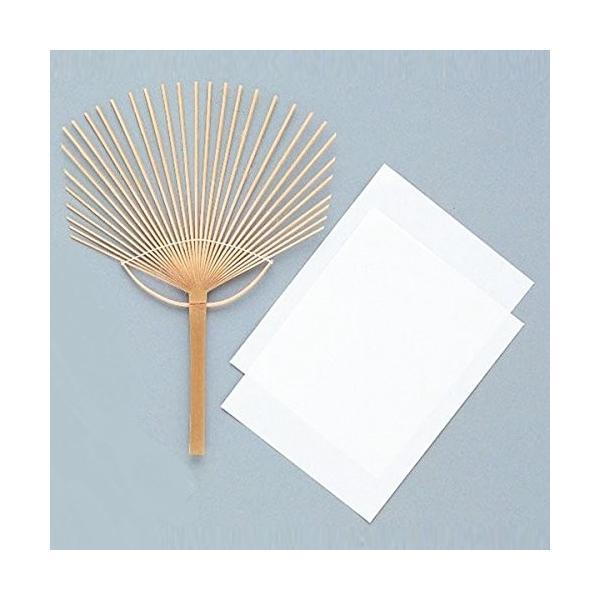 うちわ用 骨材 竹製 10本組 【 工作 夏休み 扇子 うちわ 夏 】|artloco|02