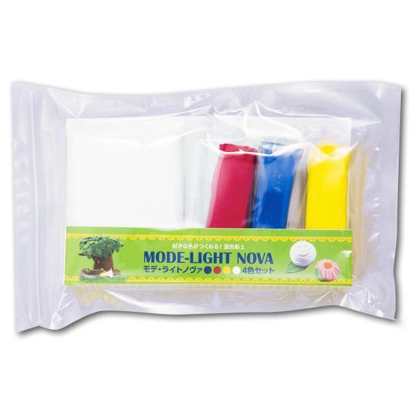 [ ゆうパケット可 ]  新・モデライトノヴァ 4色セット 【 粘土 造形 紙粘土 軽量 】|artloco|02
