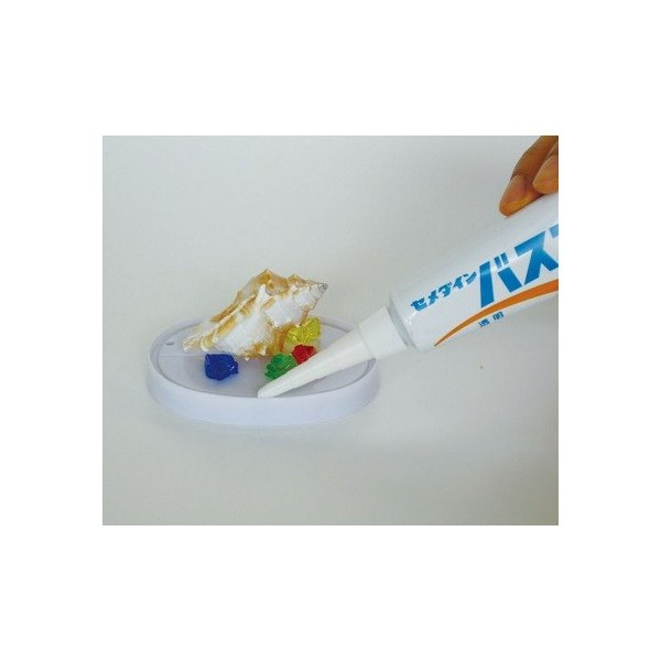 [ ゆうパケット可 ] シーリング材 バスコークN 透明 50ml 【 工作 スノードーム 水槽 防水 シーリング材 】|artloco|02