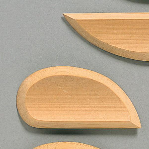 [ ゆうパケット可 ]  仕上げ用 竹ごて 樫木材 ST 幅広 【 陶芸 粘土 成形 】|artloco