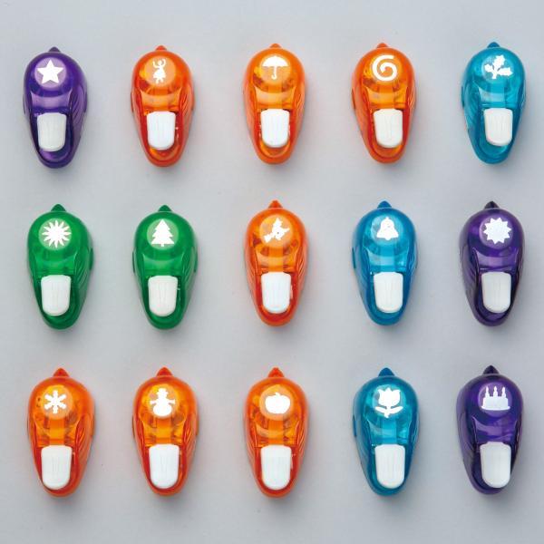 ホビーパンチャー 15種セット B 【 クラフトパンチ パンチ 飾り 】|artloco