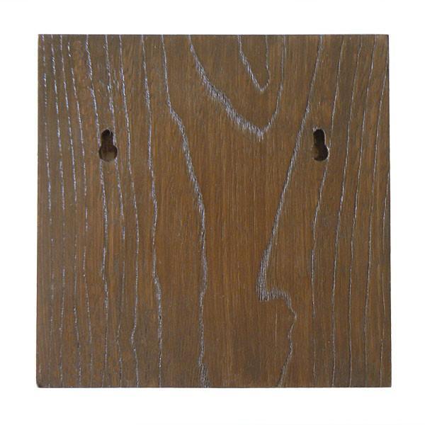 表札 (木) おしゃれな木製表札 浮き彫り 正方形 |artmark|05