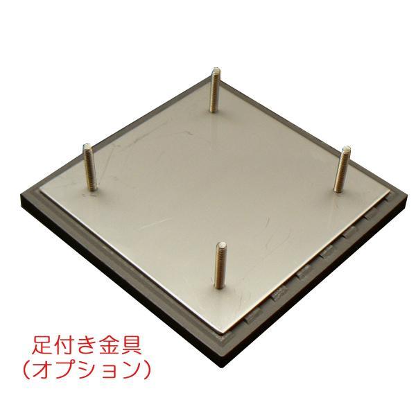 表札 (タイル) ステンレス表札 玄関表札 正方形 S22  artmark 09