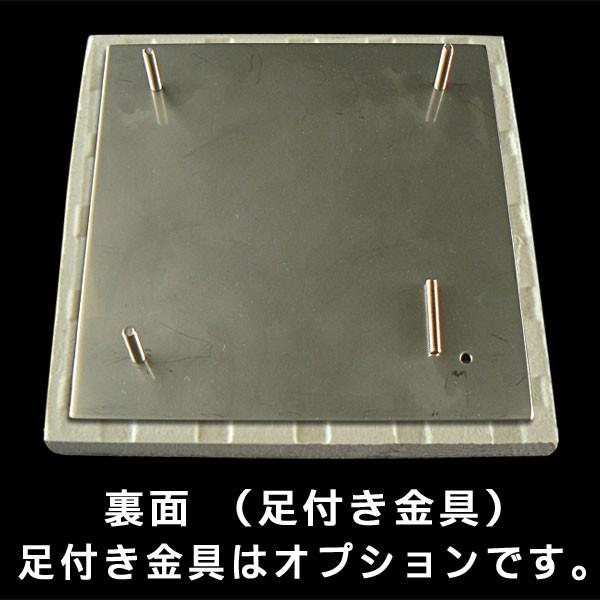 表札 タイル表札 浮彫 白 戸建表札 正方形 S51K   artmark 09