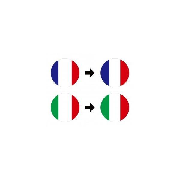 【3Dステッカー】国旗ステッカー 丸型Bタイプ小サイズ〈ヨーロッパ地区 11カ国〉 artpop-shop 04