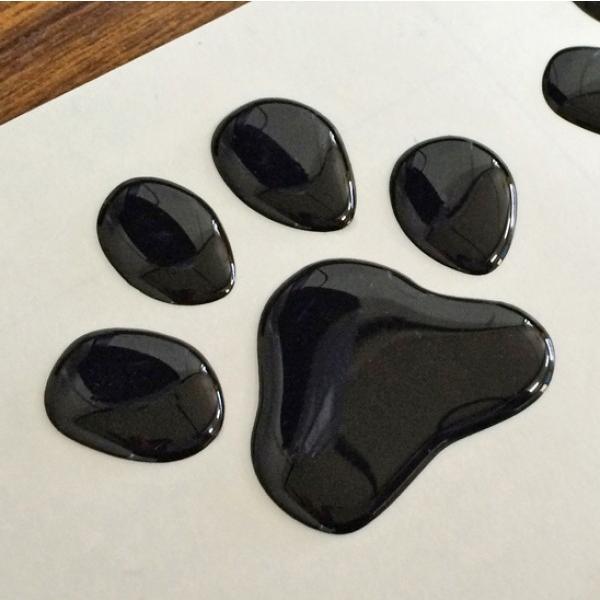 【3Dステッカー】肉球ステッカーBタイプ〈全3色から〉|artpop-shop