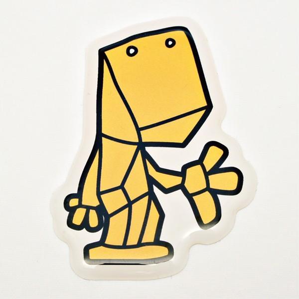 【中沢たけしの怪獣図鑑】3Dステッカー Bタイプ 大サイズ〈全14種から〉|artpop-shop|10