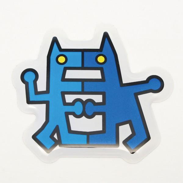 【中沢たけしの怪獣図鑑】3Dステッカー Bタイプ 大サイズ〈全14種から〉|artpop-shop|12