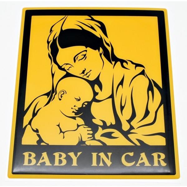 【3Dステッカー】BABY IN CARステッカー|artpop-shop