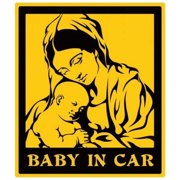 【3Dステッカー】BABY IN CARステッカー|artpop-shop|02