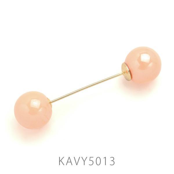挿すだけで今年らしいヘアスタイルに♪ ラウンドカラーヘアバトン【スノーホワイト】KAVY5011