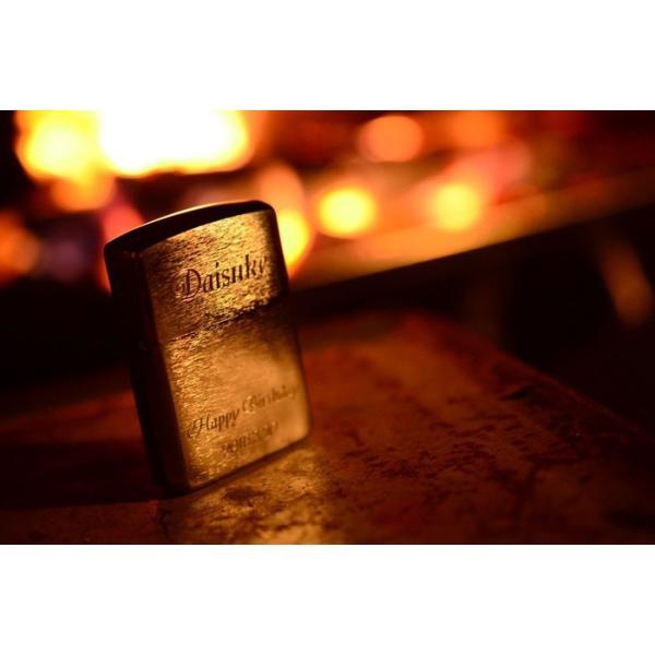 名入れ プレゼント 名前入り ライター ZIPPOブラッシュド・クローム アーマー162 ジッポ  退職記念|arttech21|06