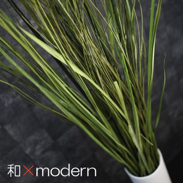 RoomClip商品情報 - 人工観葉植物/フェイクグリーンアートグリーングラス 115cm  和モダン演出 光触媒を超える消臭触媒 造花