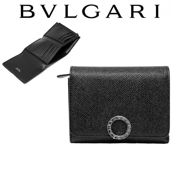 watch 50332 8cb80 ブルガリ BVLGARI 財布 レディース メンズ 二つ折り 新品 285334