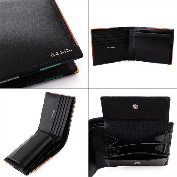 ポールスミス 財布 メンズ 二つ折り 名入れ可能 873181P514|aruarumarket|04